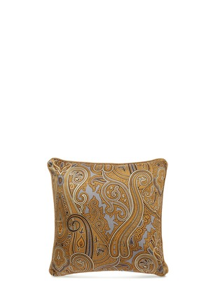 Main View - Click To Enlarge - Etro - Leicester Keyham paisley print sateen cushion