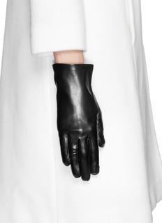 MAISON FABRELamb leather gloves