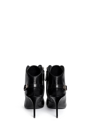Back View - Click To Enlarge - Giuseppe Zanotti Design - 'Lucrezia' lace-up ankle boots
