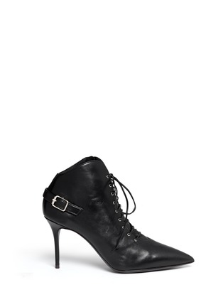 Main View - Click To Enlarge - Giuseppe Zanotti Design - 'Lucrezia' lace-up ankle boots
