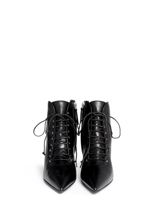 Figure View - Click To Enlarge - Giuseppe Zanotti Design - 'Lucrezia' lace-up ankle boots