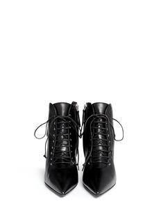 GIUSEPPE ZANOTTI DESIGN'Lucrezia' lace-up ankle boots