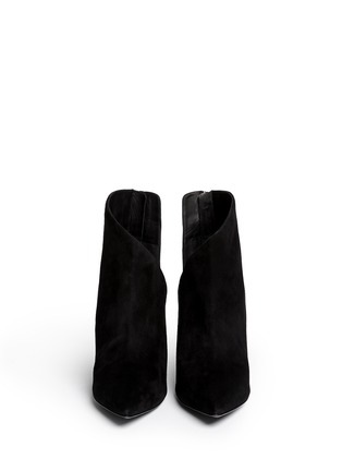 Figure View - Click To Enlarge - Giuseppe Zanotti Design - 'Lucrezia' cutout suede ankle boots