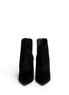 GIUSEPPE ZANOTTI DESIGN'Lucrezia' cutout suede ankle boots