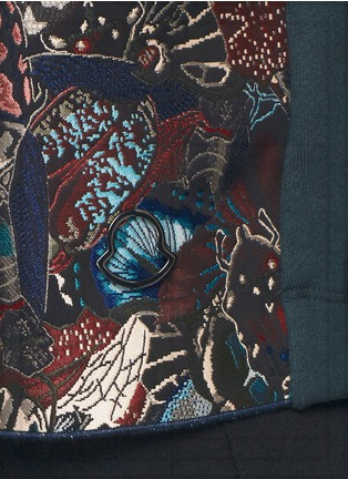 Detail View - Click To Enlarge - Moncler - Insect camouflage jacquard sweatshirt