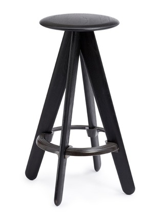 Main View - Click To Enlarge - Tom Dixon - Slab bar stool