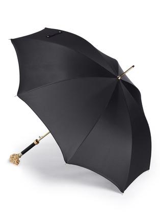 模特儿示范图 - 点击放大 - PASOTTI - 立体狮头长柄伞