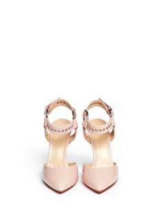 CHARLOTTE OLYMPIA 'Domina' patent leather pumps