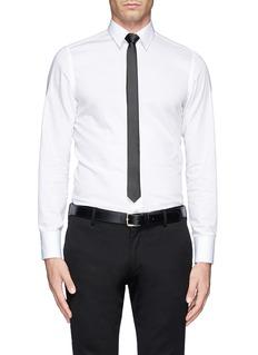 LANVINSilk skinny tie