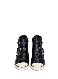 ASH 'Eagle' leather wedge sneakers