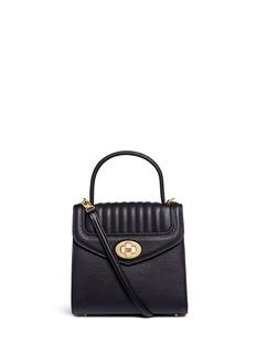 Reflections Copenhagen'Freda Mini' leather crossbody satchel