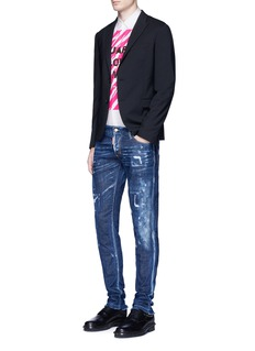 Dsquared2 Slim fit ripped jeans