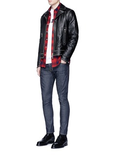 Dsquared2 'Sexy Twist' raw skinny jeans