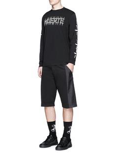 Marcelo Burlon'Tadeo' Muerte print long sleeve T-shirt
