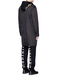 Marcelo Burlon'Santiago' leopard print cotton hoodie
