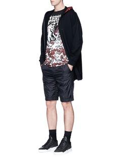 Marcelo Burlon'Pedro' skull print zip hoodie