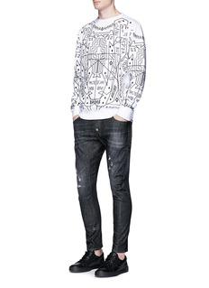 Marcelo Burlon'Salomon' print cotton sweatshirt
