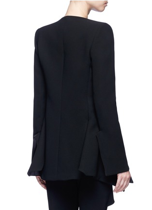 Back View - Click To Enlarge - Miss Maticevski - 'Neo' peaked hem suiting blazer