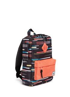 The Herschel Supply Co. Brand'Heritage' comets print kids backpack