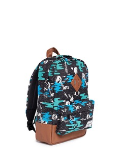 The Herschel Supply Co. Brand 'Heritage' space print kids backpack