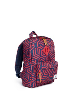 The Herschel Supply Co. Brand 'Heritage' maze print kids backpack