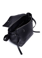 'Honor' top handle leather bag