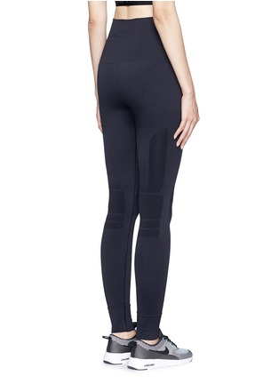 Back View - Click To Enlarge - Lndr - 'Eleven' circular knit performance leggings