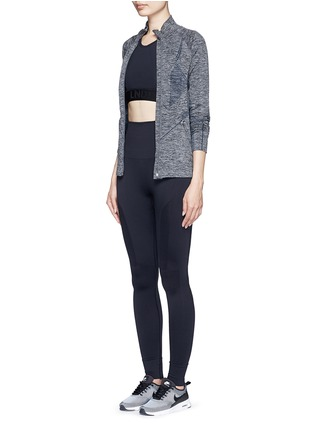 Figure View - Click To Enlarge - Lndr - 'Eleven' circular knit performance leggings
