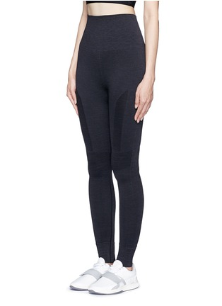 Front View - Click To Enlarge - Lndr - 'Eleven' circular knit leggings