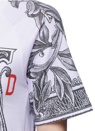 Detail View - Click To Enlarge - Opening Ceremony - 'One' dollar bill print cotton T-shirt