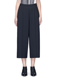 Alexander Wang  Pleated front cropped  wool blend pants