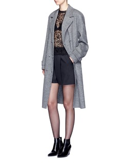 Alexander Wang  Oversized triple breasted trench coat