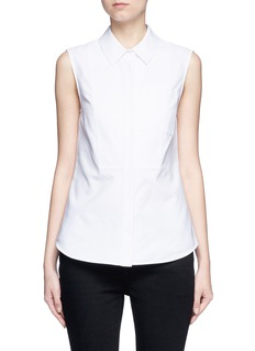 Alexander Wang  Peplum back sleeveless shirt