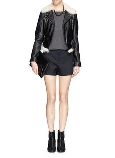 RAG & BONE'Em' pinstripe shorts