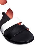 'Gladdie' colourblock leather sandals