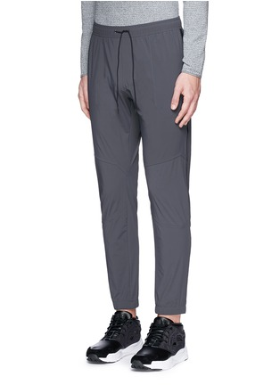 Front View - Click To Enlarge - Isaora - 'LTW' slim fit track pants