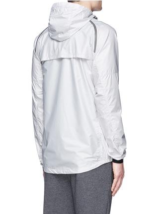 Back View - Click To Enlarge - Isaora - 'XYTLITE' running windbreaker jacket