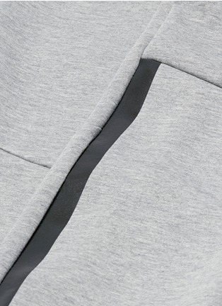Detail View - Click To Enlarge - Isaora - Bonded jersey sweatpants