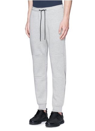 Front View - Click To Enlarge - Isaora - Bonded jersey sweatpants