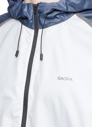 细节 - 点击放大 - ISAORA - XYTLITE跑步防风夹克