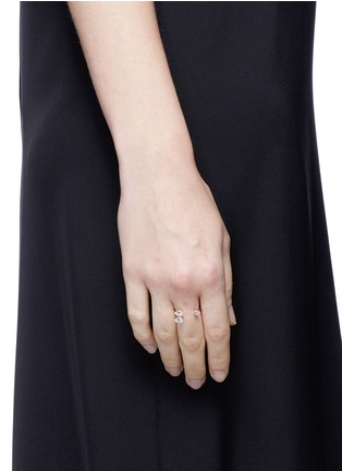 Anabela Chan - 'Orion' diamond 9k rose gold ring