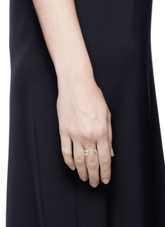 Anabela Chan 'Orion' diamond 9k rose gold ring
