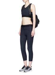 Lndr'Kova' reflective trim mesh panel leggings