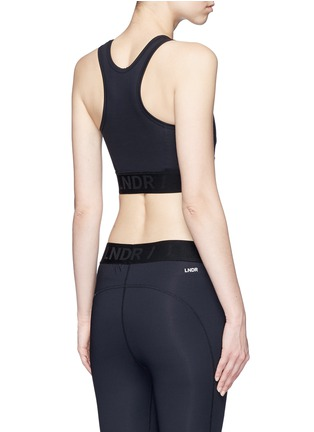 Back View - Click To Enlarge - LNDR - 'Psyche' tech fabric sports bra