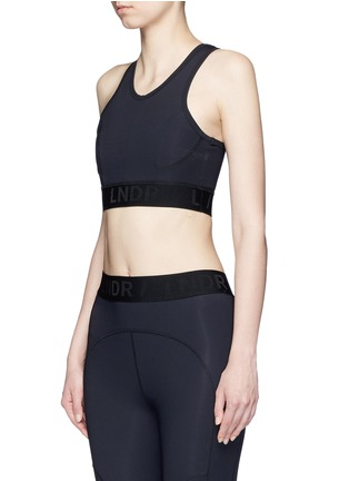 Front View - Click To Enlarge - LNDR - 'Psyche' tech fabric sports bra