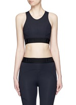 'Psyche' tech fabric sports bra