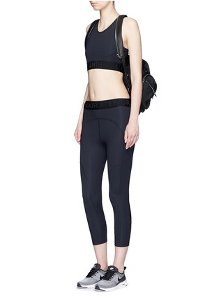 Figure View - Click To Enlarge - LNDR - 'Psyche' tech fabric sports bra