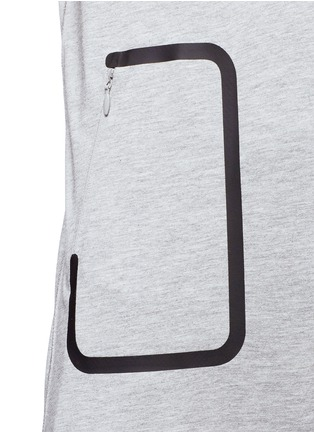 Detail View - Click To Enlarge - Lndr - 'Pocket' marled jersey T-shirt