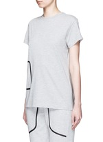 'Pocket' marled jersey T-shirt