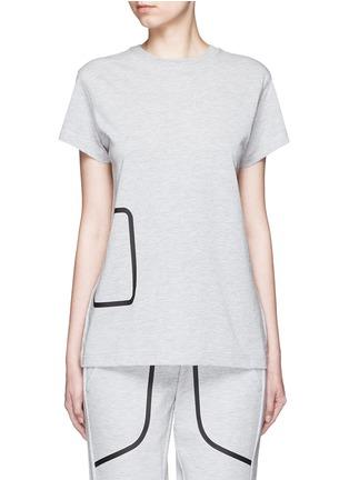 Main View - Click To Enlarge - LNDR - 'Pocket' marled jersey T-shirt